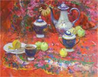 The Tea With The Lemon
