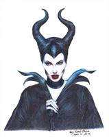 Maleficent Once Upon A Dream. As Framed Poster