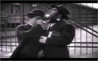 Charlie Chaplin Wiping Tears