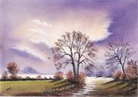 Landscape In Pastel