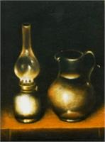 Lamp and Pitcher – Fire  and Water