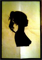 Silhouette As Framed Poster