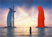 Burj Al Arab Sheikh Architecture Public Contemporary Art Design Gallery Museum Dubai Sculpture Projects Guardians Of Time By Manfred Kielnhofer