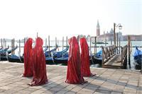 Contemporary Art Biennale Show Project Venice Public Art Illuminations Manfred Kielnhofer Sculpture Statue