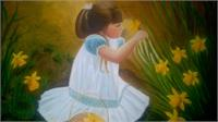 The Picking Flowers Girl 2