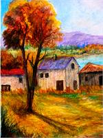 Autumn In Lake Prespa
