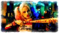 Margot Robbie Playing Harley Quinn