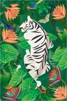 Siesta Del Tigre As Framed Poster