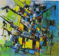 1 1 HoaiPho 1 100 100cm Acrylic On Canvas
