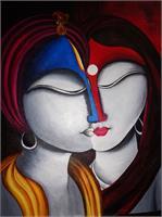 Krishna And Radha- Spiritual Fusion