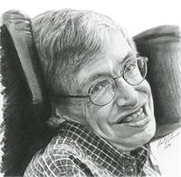 "A Timeless Smile ""Stephen Hawking"""