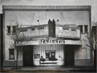 Majestic Theater Benicia I As Framed Poster