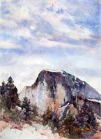 Half Dome As Greeting Card