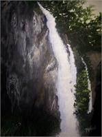 Riflefalls As Greeting Card