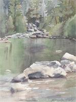 Stanislaus River As Poster