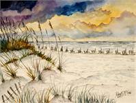 Destin Beach Painting Art Print