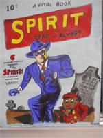 Spirit First Release Comic Cover Art