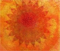 Orange Mandala Of Change