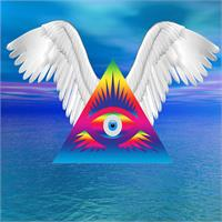 Third Eye With Wings As TShirt