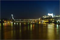 Bratislava Night Castle