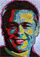 Brad Pitt Collage