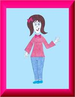 ....Mom!!..as A Book Character, Or Greeting Card!