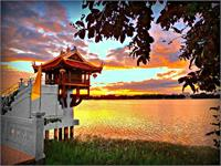 Shrine On The Lake.