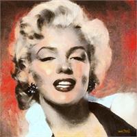 Marilyn In Retro Color