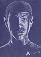Spock As Framed Poster