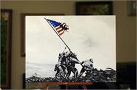 Iwo Jima As Greeting Card