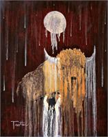 Buffalo Spirit As Framed Poster