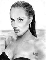 ANGELLINA Jolie As Calendar