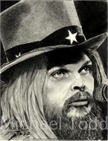 LEON Russell As Framed Poster