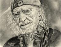 Willie Nelson As Poster