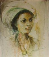 "L0008 ""Balinesse Girl"" By Hamdouri"
