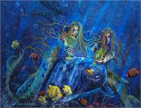 Mermaids Of Aqualainia Cups