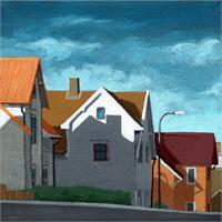 Row Houses - Cityscape Architecture