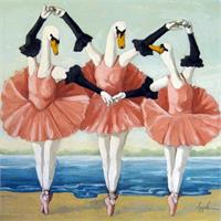 Swan Lake - Anthropomorphic Fantasy