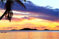 Colorful Caribbean Island Sunset Secret Harbor St Thomas Photograph By Roupen Baker
