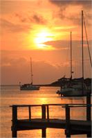 Ocracoke Island Harbor Sunset