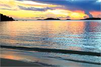 Shimmering Sunset Seascape St Thomas Virgin Islands Photograph By Roupen Baker