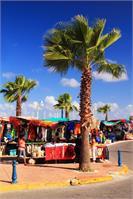 Street Market In St. Martin