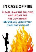 Fire As Framed Poster