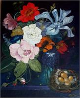 Flowers And Nest