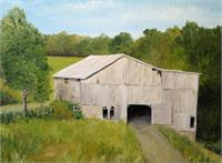 The Old Barn As Greeting Card