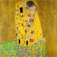 Gustav Klimt The Kiss As Framed Poster