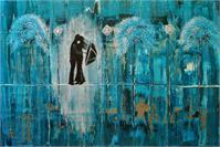 Turquoise Rain Romance