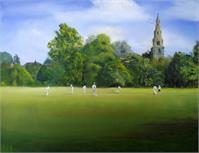 The Village Cricket Match