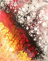 Fire & Ice II As Greeting Card