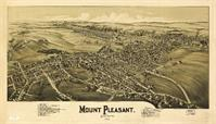 Aerial View Of Mount Pleasant, Pennsylvania (1900)